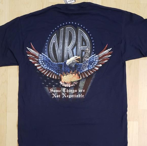 cf52b422 National Rifle Association Shirts | Nwt Nra American Eagle 100 ...
